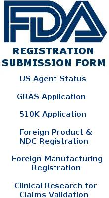 FDA Registration Form
